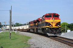 NS I4E (Extra 24E, KCS I-DAAT2) 6/10/18 (tjtrainz) Tags: ns norfolk southern i4e extra 24e kcs idaat2 intermodal train kansas city austell ga georgia alabama division east end district belle emd electro motive sd70ace es44ac ge general electric