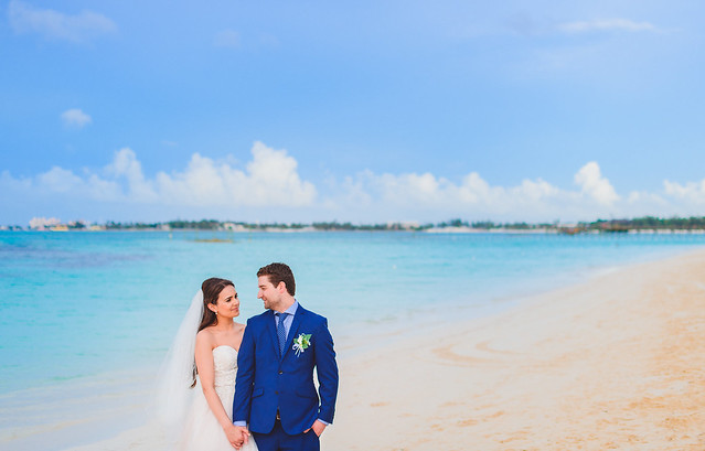 Emily & Dylan // Nassau, Bahamas // Melia Resort // Destination Wedding