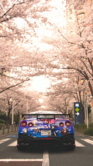 PMC Week 18 Entry - 'Japan Encapsulated' (at1503) Tags: japan japanese anime cherryblossom city urban trees nissan gtr nissangtr nismo nissangtrnismo livery animelivery competition light bright spring blossom granturismo granturismosport motorsport racing game gaming ps4 aperature depthoffield sportscar