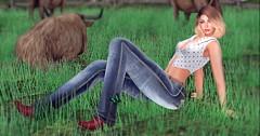 Country Girl (Sannita_Cortes) Tags: everglow hillyhaalan ikon mozdesigns tonic tonicelaine tonicfine truth body boots fashion meshbody meshhead pantoutfits poses skin tops secondlife sl styles virtualworld virtual virtualfashion female