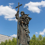 Statue of Vladimir the Great in Kremlin, Moscow thumbnail
