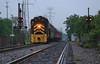 NKP 901 (GLC 392) Tags: emd gp30 passenger train nkp nickle plate platte road railroad railway rain reflection lebanon mason lmm 901 monroe norwood oh ohio cpl color positon light signal cnry cincinnati