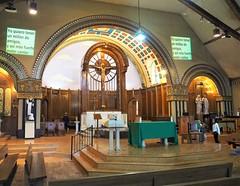 St. Pius V Catholic Church (Brule Laker) Tags: chicago illinois caf churches pilsen catholicchurches chicagoarchitecturefoundation walkpilsen