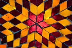 Mosaik Pattern - 6 line symmertries in one picture (LuziferFA) Tags: macro mondays macromondays symmerty line linesymmerty mosaik pattern muster spiegel mirror bunt color colors colorful
