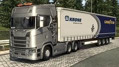 Brno - Berlin (Dazza Neo) Tags: ets 2 euro truck simulator truckers mp multiplayer mod racing components scania krone simulation