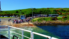 Scotland West Highlands Argyll the car ferry Loch Riddon leaving the island of Cumbrae video 28 May 2018 by Anne MacKay (Anne MacKay images of interest & wonder) Tags: scotland west highlands argyll car ferry loch riddon island cumbrae 28 may 2018 video by anne mackay caledonian macbrayne calmac