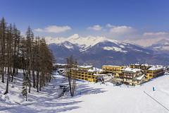 Pila Ski Resort in Aosta, Italy (www.alexandremalta.com) Tags: montain sky landscape alexandremalta ski snowboarding snow italy alpes pila aosta skiresort