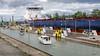 Business or Pleasure - Thorold, Ontario (Richard Adams Photography) Tags: wellandcanal welland thorold ontario shipping ship lock liftlocks water pleasure craft boating boat