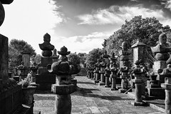 Yanaka Cemetery (Guy: Jussum Guy) Tags: monochrome blackandwhite tokyo japan nippori yanaka cemetery monuments burial graves