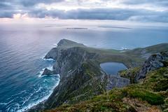 Saddle head & Lough Bunnafreeva (mickreynolds) Tags: 2018 achill comayo hike ireland mreynolds nx500 wildatlanticway samyang 12mm lovemayo loveachill