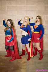 Supergirl cosplay (The Doppelganger) Tags: supergirl cosplay cosplayer dccomics skirt boots wizardworldphiladelphia wizardworld2018 wizardworld