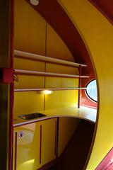 Small kitchenette (koukat) Tags: espoo helsinki emma weegee futuro house plastic modern art modernism finland viaje travel futuromania designing future living design diseno