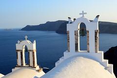 oia white and blue (moniq84) Tags: oia white blue churches church orthodox sea boat island santorini greece vulcano caldera travel