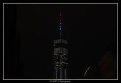 2018.06.23 Freedom Tower rainbow 1 (garyroustan) Tags: ny nyc newyore freedom tower gay pride lgbt month gaypride night usa