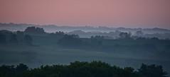 Foggy Morning (Mulewings~) Tags: sunrise ontheridge lookingoverkolstad thingsofsky