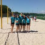BeachVB Sporttag Fröschi 20.6 so sehen Siegerinnen aus