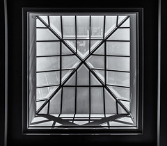 Architectural Detail ... ; (c)rebfoto (rebfoto ...) Tags: geometric atrium window skylight architecture symmetry rebfoto architecturalphotography