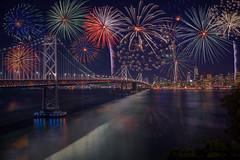 SF-July 4th (Juan Pablo J.) Tags: california cityscape canon5dmkii canon24105mmf4l city fireworks nocturna nigth nightphotography
