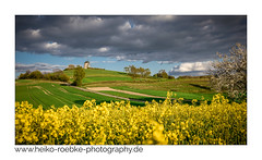 Landschaft im Frühling / landscape in spring (H. Roebke) Tags: 2018 de canon5dmkiv color nature germany rapeseed rural canon1635mmf28lisii clouds windmühle yellow spring sky windmill landscape kalletalbavenhausen lightroom raps