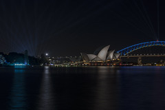 sydney vivid (Greg Rohan) Tags: skyline cityscape colour vivid lights nightlights longexposure nightphotography architecture sydneyharbour sydneyoperahouse operahouse sydneyharbourbridge harbourbridge harbour bridge australia sydney d750 2018 nikon nikkor night water city