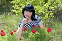 DCS_6885 (dmitriy1968) Tags: portrait портрет nature природа erotic sexsual эротично отдых путешествия outdoor beautiful girl wife люди people придонье девушка summer летом солнечный день sunny day лес forest цветы flowers платье dress