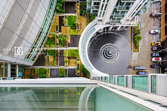 Vertigo - London, UK (davidgutierrez.co.uk) Tags: london photography davidgutierrezphotography city art architecture nikond810 nikon urban travel color night blue photographer tokyo paris bilbao hongkong uk cloud londonphotographer building street colors colours colour europe beautiful cityscape davidgutierrez structure d810 contemporary arts architectural design buildings centrallondon england unitedkingdom 伦敦 londyn ロンドン 런던 лондон londres londra capital britain greatbritain streets ultrawideangle afsnikkor1424mmf28ged 1424mm bluesky vivid vibrant summer sunshine geometric victoria texture bright shadow nikkor day windows canarywharf londonboroughoftowerhamlets balcony lookingdown