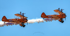 The Flying Circus, Wingwalkers. (daveduke) Tags: breitlingwingwalkers theflyingcircus southportairshow2018 wingwalkers sonya7r2 sonyfe100400mmgmoss airshow