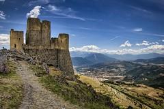 Rocca Calascio_Abruzzo, Italy (Felix_65) Tags: ladyhawke movie rocca calascio italy abruzzo landscape paesaggio sky mountains nikon d5100