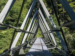 SIH300 Pedestrian Bridge over the Sihl River, Wollerau, Canton of Schwyz, Switzerland