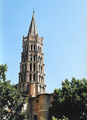 Saint Sernin Toulouse (Dun.can) Tags: toulouse france basiliquesaintsernindetoulouse saintsernin spire 15thcentury 12thcentury tower medieval