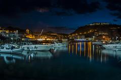 Lacco Ameno di notte (Nunzio Pascale) Tags: nightlandscape night notte noctis nuit barche boats luci lights summer estate2018 noche montevico