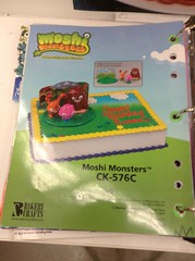Moshi Monsters birthday cake (splinky9000) Tags: kingston ontario wal mart