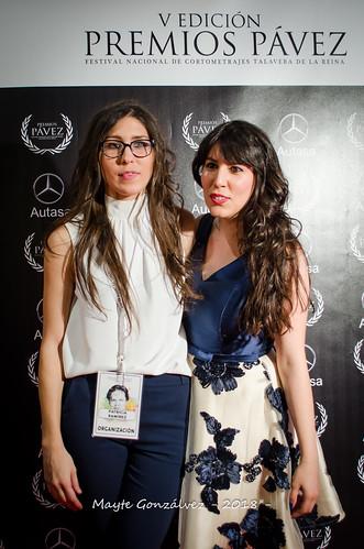 Alfombra roja y Photocall V Premios Pávez