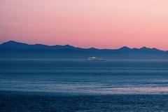 The Salish Sea (astro@spaceboyz.net) Tags: ocean sea mountains blue ship
