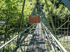 SIH300 Pedestrian Bridge over the Sihl River, Wollerau, Canton of Schwyz, Switzerland (jag9889) Tags: 2018 20180713 bach bridge bridges bruecke brücke ch cantonschwyz cantonofschwyz centralswitzerland crossing europe fluss footbridge fussgängerbrücke gkz577 helvetia höfe infrastructure innerschweiz kantonschwyz limmattributary outdoor pedestrianbridge plaque pont ponte puente punt river sz schweiz schwyz sign sihl span stream structure suisse suiza suizra svizzera swiss switzerland text tree truss wasser water waterway wollerau zentralschweiz jag9889