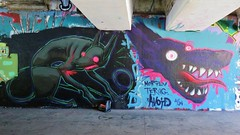 Avoid / Keizerviaduct - 14 jul 2018 (Ferdinand 'Ferre' Feys) Tags: gent ghent gand belgium belgique belgië streetart artdelarue graffitiart graffiti graff urbanart urbanarte arteurbano ferdinandfeys