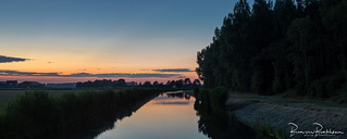 Panorma After Sunset