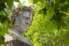 Paxton, Crystal Palace (archidave) Tags: london crystalpalace victorian statue bust head paxton marble architect