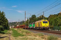 Porte Ambérieu à Miribel (AziroxY) Tags: trains trainspotting train photo plm photosncf photographie prima bb75000 miribel lyon ligne