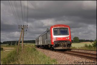 Le X 4647 à Blanzy le 27 mai 2011.