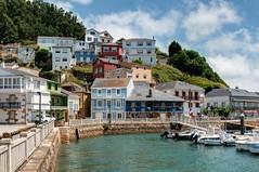 El Barquero, (ccc.39) Tags: galicia lacoruña pueblo ría elbarquero casas mar cantábrico costa coast town sea boats puerto