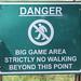 Danger Sign, Hlane Royal National Park, Swaziland