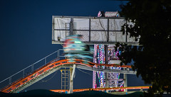 pole position 8 (pbo31) Tags: 2018 alamedacountyfair pleasanton california eastbay bayarea carnival lightstream motion ride color night dark boury pbo31 nikon d810 june summer midway butler amusements motionblur