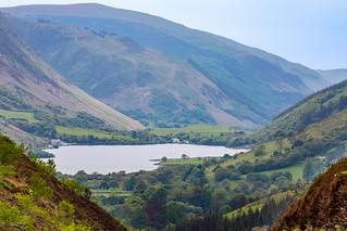 Tal-y-Llyn - Views from the A487 between Corris and Dolgellau, Wales. UK