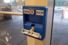 Door release pull station (SchuminWeb) Tags: schuminweb ben schumin web may 2018 cumberland county pennsylvania lower allen township capital city mall capitalcitymall pull station open door release pullstation stations pullstations fire alarm alarms down pulldown tbar t bar bars tbars blue firealarm firealarms white pulled activated pa lowerallentownship twp camp hill camphill real estate investment trust preit acorn doors glass harrisburg