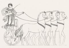 Paris in the quadriga from An illustration of the Egyptian, Grecian and Roman costumes by Thomas Baxter (1782-1821).Digitally enhanced by rawpixel. (Free Public Domain Illustrations by rawpixel) Tags: illustration psd publicdomain vector otherkeywords afterlife anillustrationoftheegyptian ancient ancientgreek antique art artistic baxter belief brave carriage cc0 drawing empire gods grecian grecianandromancostumes greek historic historical history holding horse muscle mythology old oldtime paris parisinthequadriga quadriga riding romans sketch standing stick thomasbaxter vintage wheel woman worship