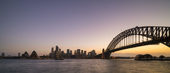 Sydney Harbour Bridge III (Raymond.Ling.43) Tags: sony a7rii australia oct sydneyharbourbridge 雪梨港灣大橋 newsouthwales city harbour sunset nsw sydney
