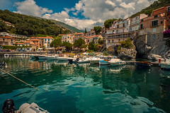 Welcome to paradise..... (Dafydd Penguin) Tags: parco nazionale pollino national park mountains hills harbour harbor port harbourside quayside maratea basilicata region tyrrhenian sea water mediterranean italy coast coastal settlement village town urban leica m10 elmarit 21mm f28