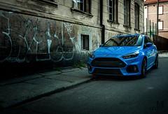 Focus RS (mateusz.jedrak1) Tags: ford focus rs sport blue car