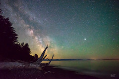 French Beach Milky Way (cdnfish) Tags: astrophotography astro sookebc bc britishcolumbia canada vancouverisland beach ocean landscape landscapephotography milkyway galacticcenter log longexposure longexposures seascape seashore stars sony sonya7m2 a7m2 rokinon14mmf28 airglow